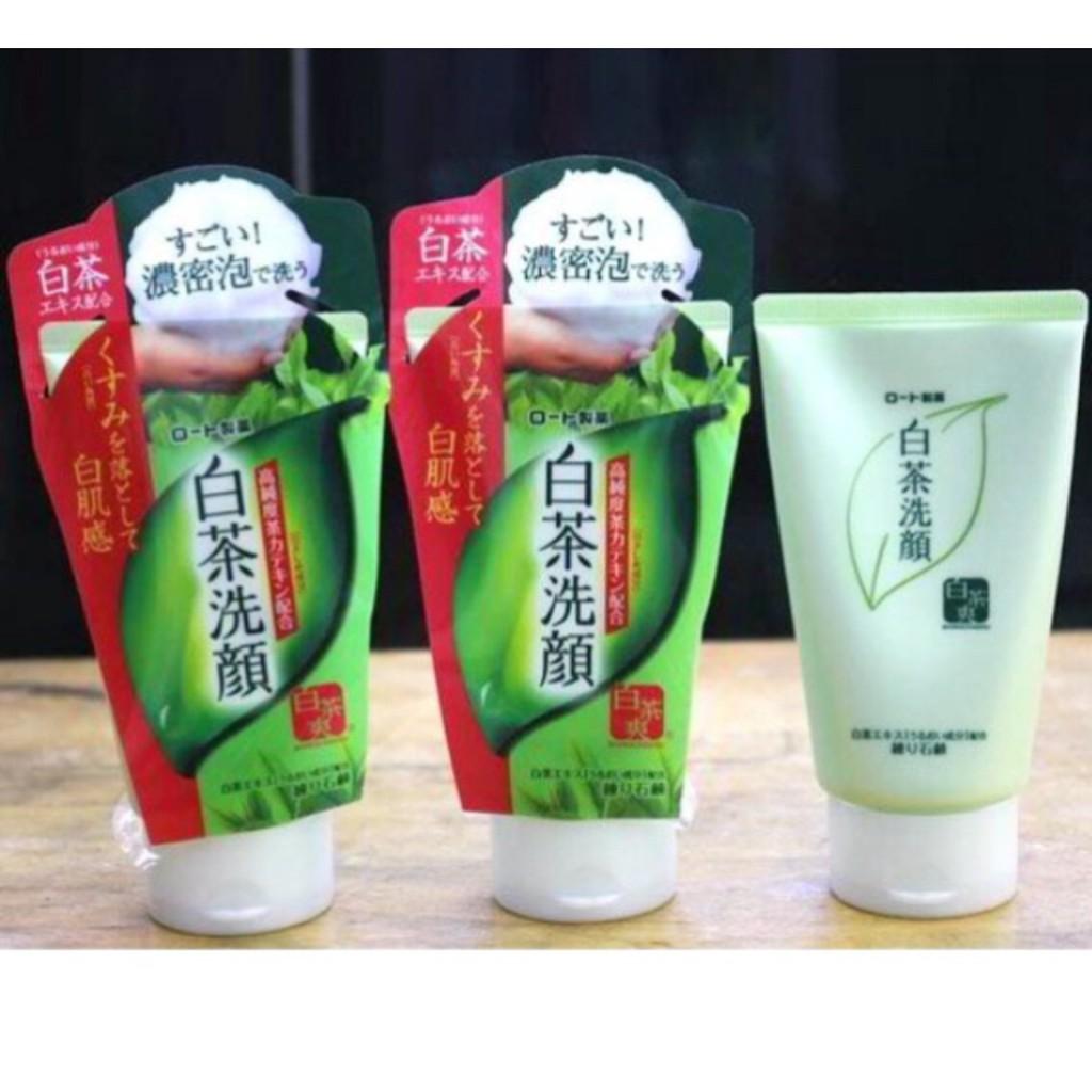 Combo 3 Sữa rửa mặt trà xanh Rohto Shirochasou Green Tea Foam 120g hàng nội địa Nhật Bản - 3312304 , 947266667 , 322_947266667 , 310000 , Combo-3-Sua-rua-mat-tra-xanh-Rohto-Shirochasou-Green-Tea-Foam-120g-hang-noi-dia-Nhat-Ban-322_947266667 , shopee.vn , Combo 3 Sữa rửa mặt trà xanh Rohto Shirochasou Green Tea Foam 120g hàng nội địa Nhật B