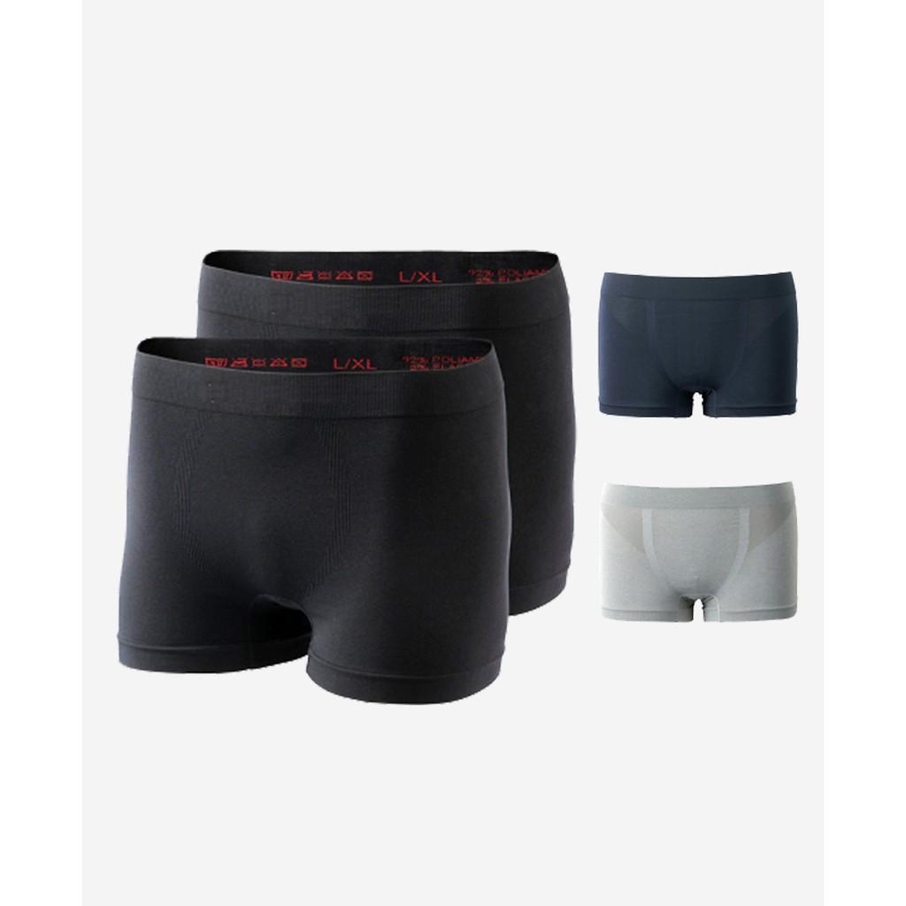 Combo 3 quần lót nam dệt kim tròn không đường may