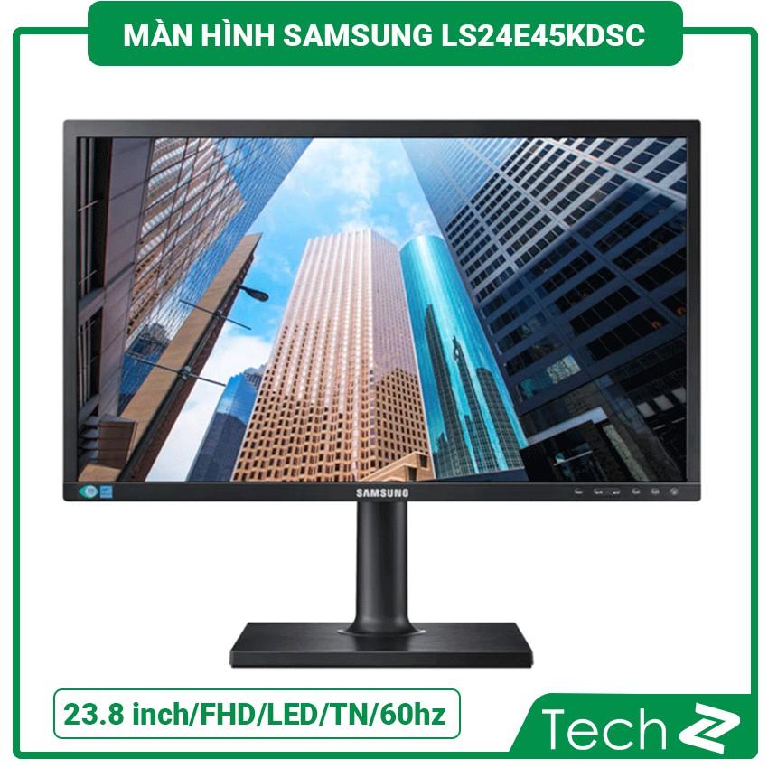 Màn Hình Samsung Ls24E45Kdsc (23.8 Inch/Fhd/Led/Tn/60Hz/5Ms200Cd/M²/Dp+Dvi+Vga)