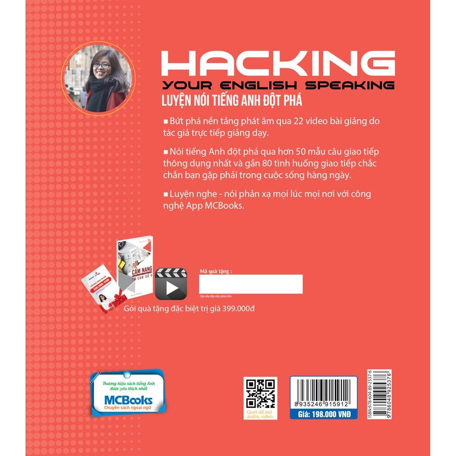 Sách - Hacking Your English Speaking - Luyện Nói Tiếng Anh Đột Phá