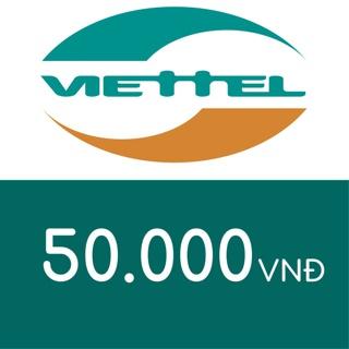 Hình ảnh Mã thẻ điện thoại Viettel 50K-0