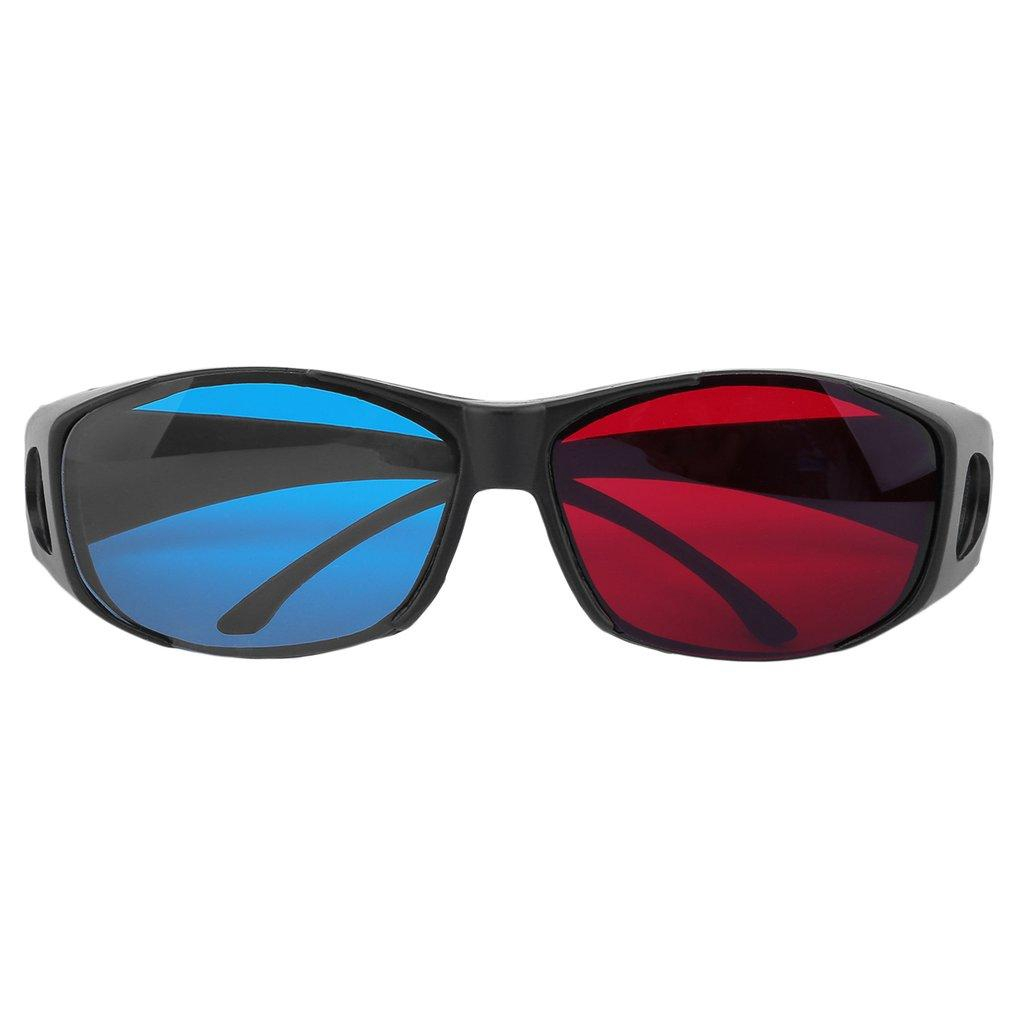 Universal Type 3D Glasses/Red Cyan 3D glasses Anaglyph 3D Plastic Glasses
