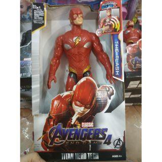 Mô hình Avengers nhân vật The Flash 30cm nhạc đèn