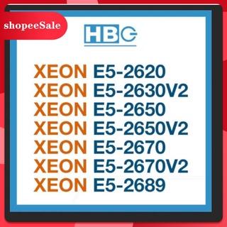 (Hàng Mới Về) Bộ Xử Lý Intel Xeon E5-2620, E5-2630V2, E5-2650, E5-2650V2, E5-2670V2, E5-2689 thumbnail