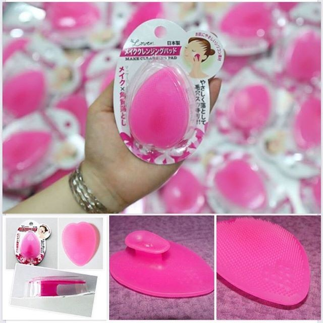 Miếng rửa mặt silicon Nhật Bản Seiwapro loven make cleansing pad - 21725570 , 2832858751 , 322_2832858751 , 60000 , Mieng-rua-mat-silicon-Nhat-Ban-Seiwapro-loven-make-cleansing-pad-322_2832858751 , shopee.vn , Miếng rửa mặt silicon Nhật Bản Seiwapro loven make cleansing pad