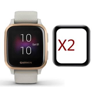 Set 2 miếng phim trong suốt 3D bảo vệ đồng hồ thông minh Garmin Venu SQ
