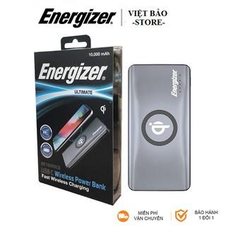 Pin Dự Phòng Tích Hợp Sạc Không Dây Energizer QE10005CQ - 10,000mAh, QC3.0, USB-C PD 3.0