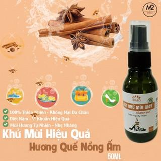 Xịt khử mùi giày Hương Quế Nano Bạc XIMO mùi dịu nhẹ đánh tan mùi hôi chân, giày và mũ bảo hiểm thumbnail