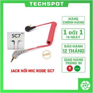 JACK NỐI MIC SC7 TỪ RODE VIDEOMIC GO/ VIDEO MICRO VÀO IPHONE IPAD Smartphone | Chính Hãng