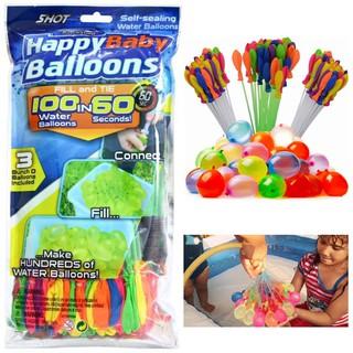 Happy Baby Balloons – Cuộc Chiến Bong Bóng Nước – combo 2 túi