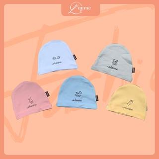 Mũ vải sơ sinh cho bé trai/bé gái siêu thoáng mát thiết kế bởi LAMME