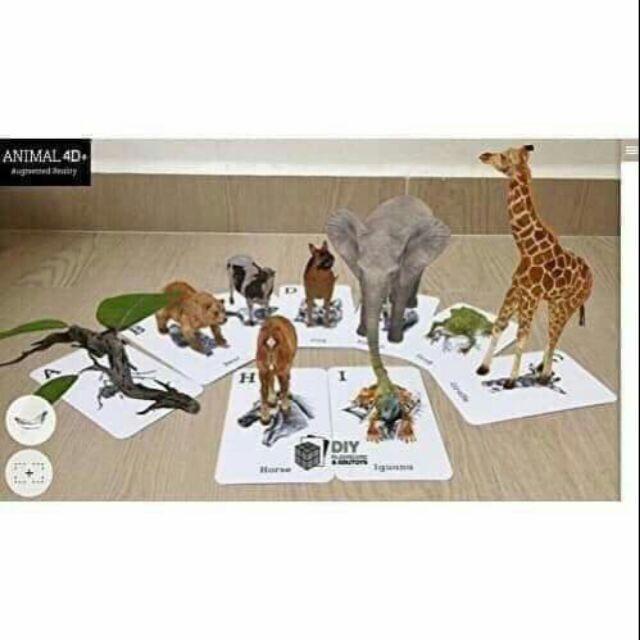 Tranh 4D Animal và 4D Space (Mua 3 tặng 1)