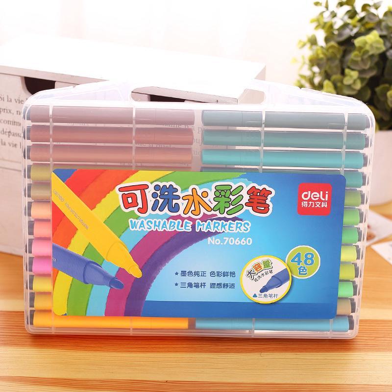 set 36 bút lông màu không độc hại cho bé