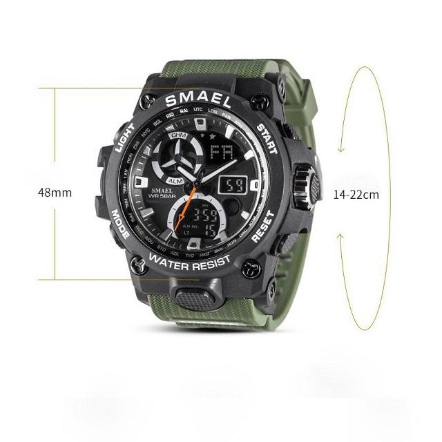 [ Free Ship ] Đồng hồ nam điện tử thể thao SMAEL chính hãng DH02