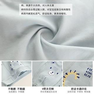 Quần Lót Cotton Hình Tam Giác Thoáng Khí Cho Bé