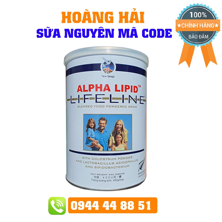 Sữa Non Alpha Lipid 450g Nguyên Mã Code Bữa Sáng Kháng Thể