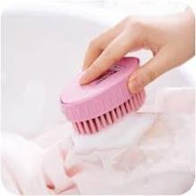 Bàn chải chà chân, giặt quần áo lông mềm mại vuông & tròn 2352+53
