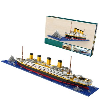 💞BULA Big Titanic Jackross Digital Building Blocks Toy