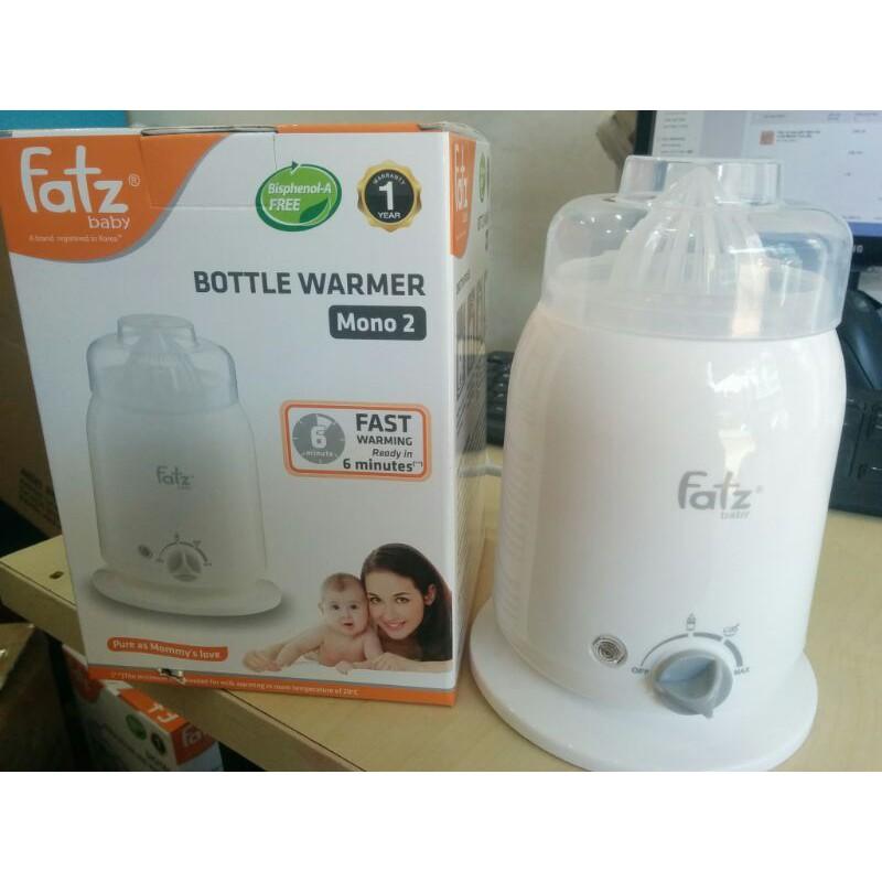 Máy hâm sữa và thức ăn 4 chức năng Fatz Baby FB3002SL