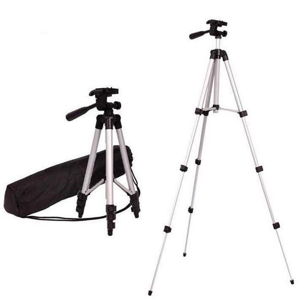 Bộ Chân và Gía đỡ máy ảnh và điện thoại Tripod JF-3110