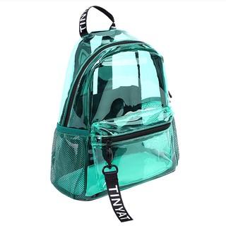Balo trong suốt chất liệu sillicon dẻo cao cấp, bền nhiệt, bền màu. Backpack thumbnail