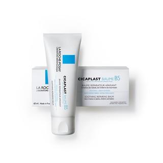 Hình ảnh Kem dưỡng giúp làm dịu, làm mượt, làm mát & phục hồi da phù hợp cho trẻ em La Roche-Posay Cicaplast Baume B5 40ml-4
