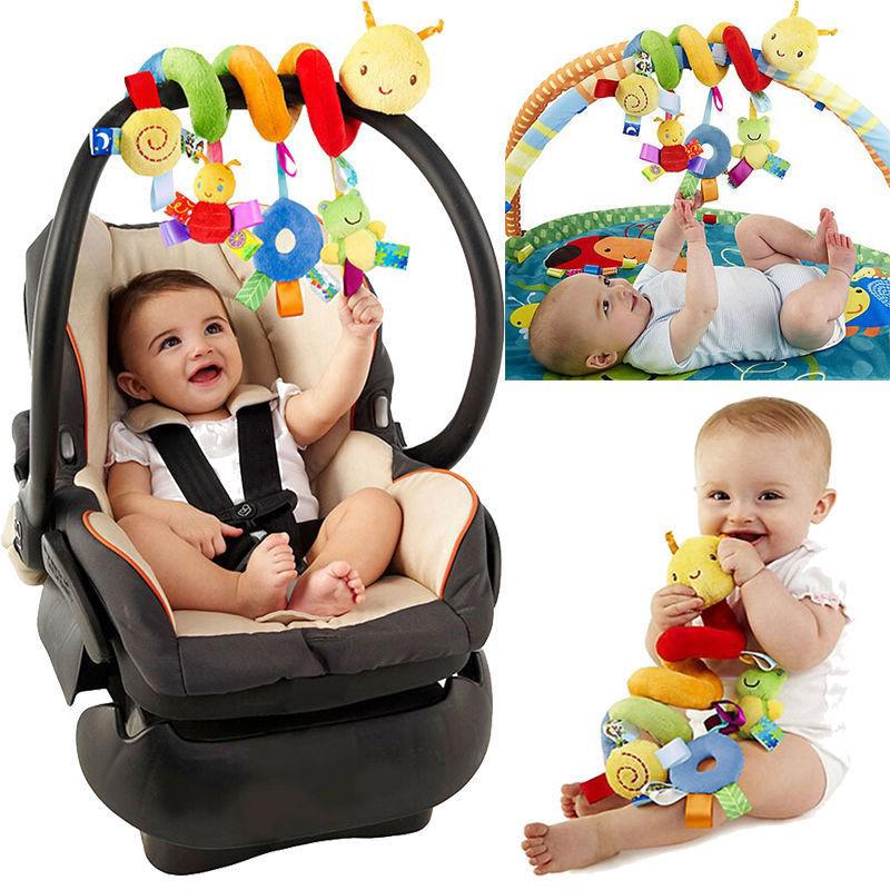 Baby Bed Around Baby stroller Hanging Bell/ Rattle Mobile Plush Toy