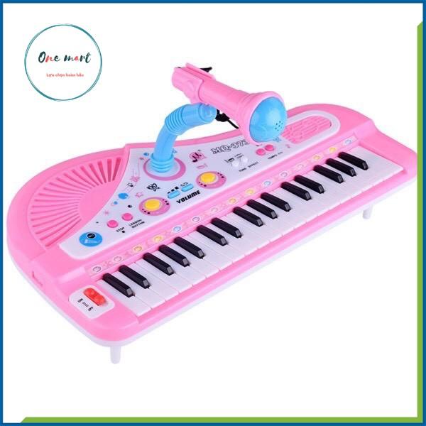 [Hàng Đẹp] Đàn Piano Đàn Điện Tử 61 Phím Kèm Mic Cho Bé Đàn Organ