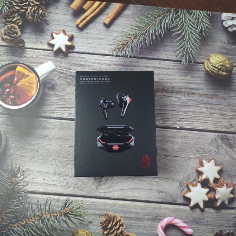 [Mã 267ELSALE hoàn 7% đơn 300K] Tai Nghe Bluetooth TWS Nubia Red Magic (Chính Hãng)