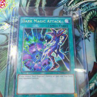 Dark magic Attack hộ trợ cho bộ bài dark magician. Mua lần đầu nhận ngay một lá bài ngẫu nhiên !! (sản phẩm chính hãng)