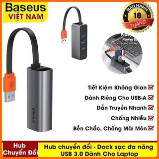 Hub Chuyển Đổi – Dock Sạc Đa Năng USB 3.0 Baseus RJ45 Dành Cho Laptop Dell Notebook