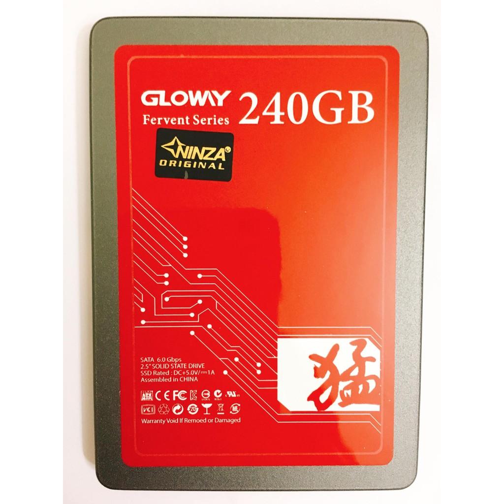 """Ổ cứng SSD Gloway FER240GS3-S7 240GB SATA3 6Gb/s 2.5"""" - Bảo hành chính hãng 36 tháng"""