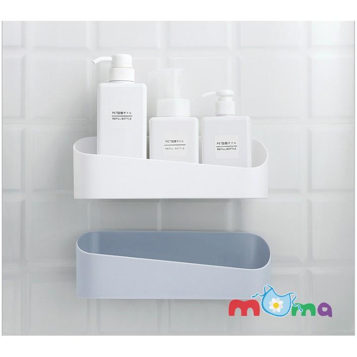01Giá đỡ,Kệ treo, Khay treo dán góc tường dễ dàng tháo lắp nơi phòng tắm,phòng ngủ đựng mỹ phẩm, gia vị, sắp xếp đồ