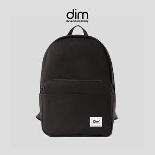Balo Nữ/Nam Thời Trang Cao Cấp DIM Classic Backpack – Đen/Xám