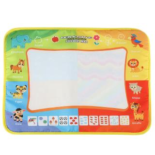 Baby Gifts Mat Colorful with Toys Kids Reusable Painting 2 Learning Drawing Water Pens Playing
