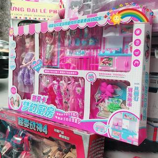 Búp bê váy tím   Toy Mark