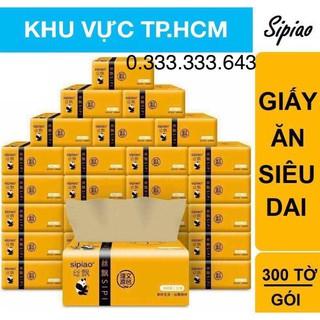 ( Freeship HCM ) Combo 15 Gói giấy ăn gấu trúc siêu dai Sipiao ( Hàng nội địa trung ) thumbnail