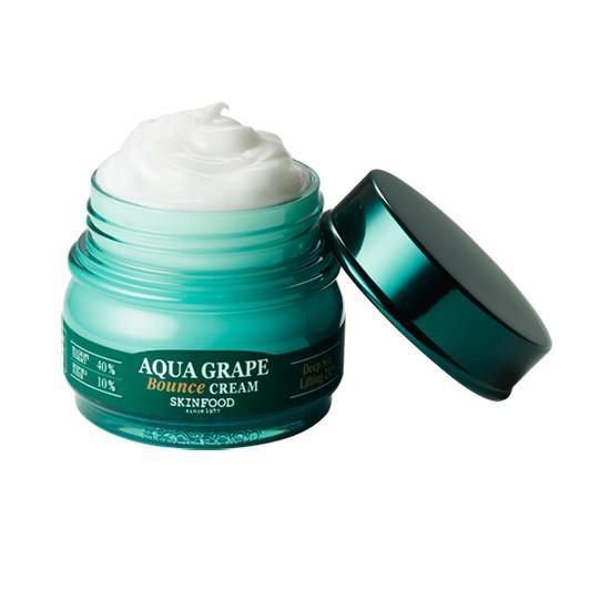 Kem dưỡng ẩm làm tăng độ đàn hồi và săn chắc cho làn da Skinfood Aqua Grape Bounce Cream 63ml về hàn
