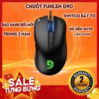 [CHÍNH HÃNG] Chuột Fuhlen G90 siêu HOT – Bảo hành 1 năm