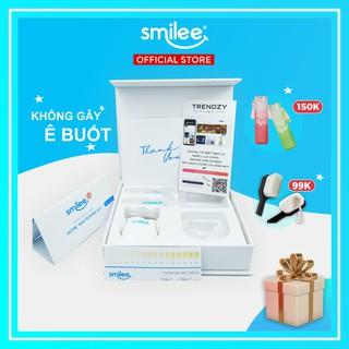 [𝐎𝐟𝐟𝐢𝐜𝐢𝐚𝐥 + Full Quà 🎁 + ⚡25%] Bộ kit tẩy trắng răng tại nhà Smilee – Hàng nhập khẩu USA – ISO 22716 – 2007   Smilee Max