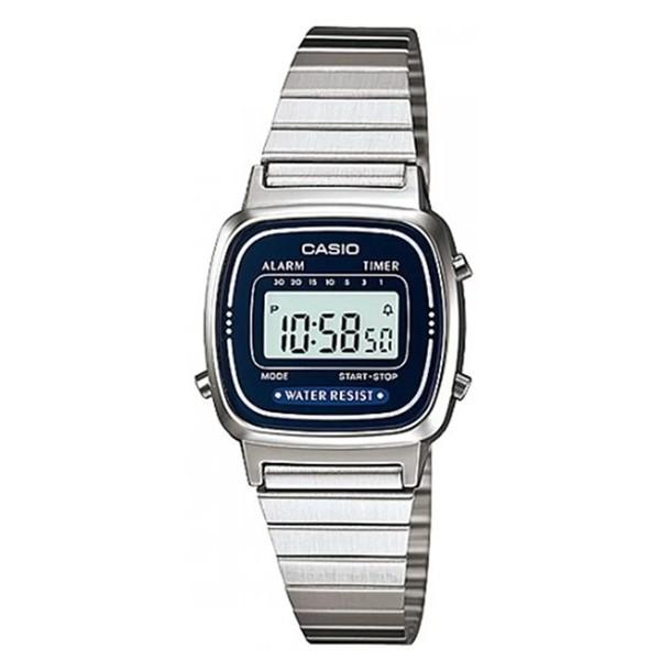 Đồng hồ nữ dây kim loại chính hãng Casio LA670WA-2DF