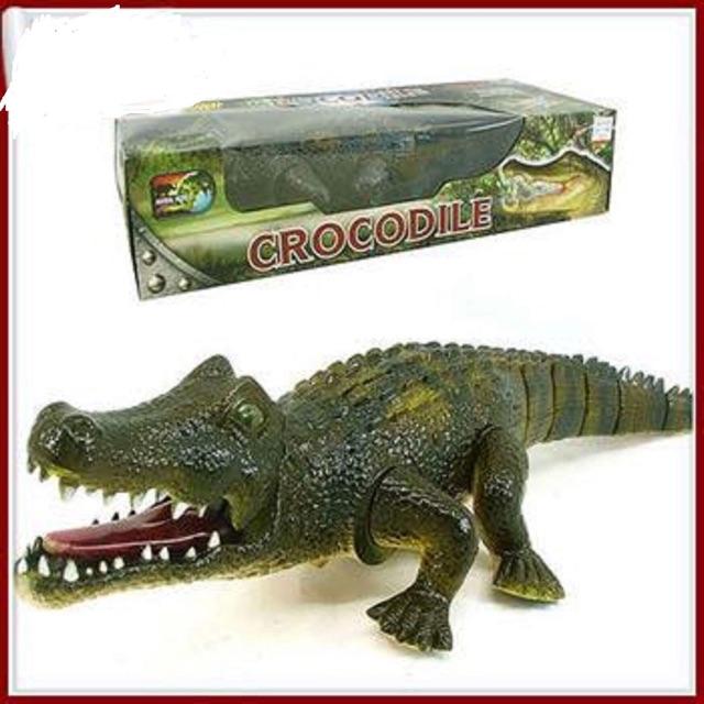 Cá sấu chạy pin, có ánh sáng và âm thanh