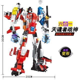 Robot siêu nhân 6 trong 1