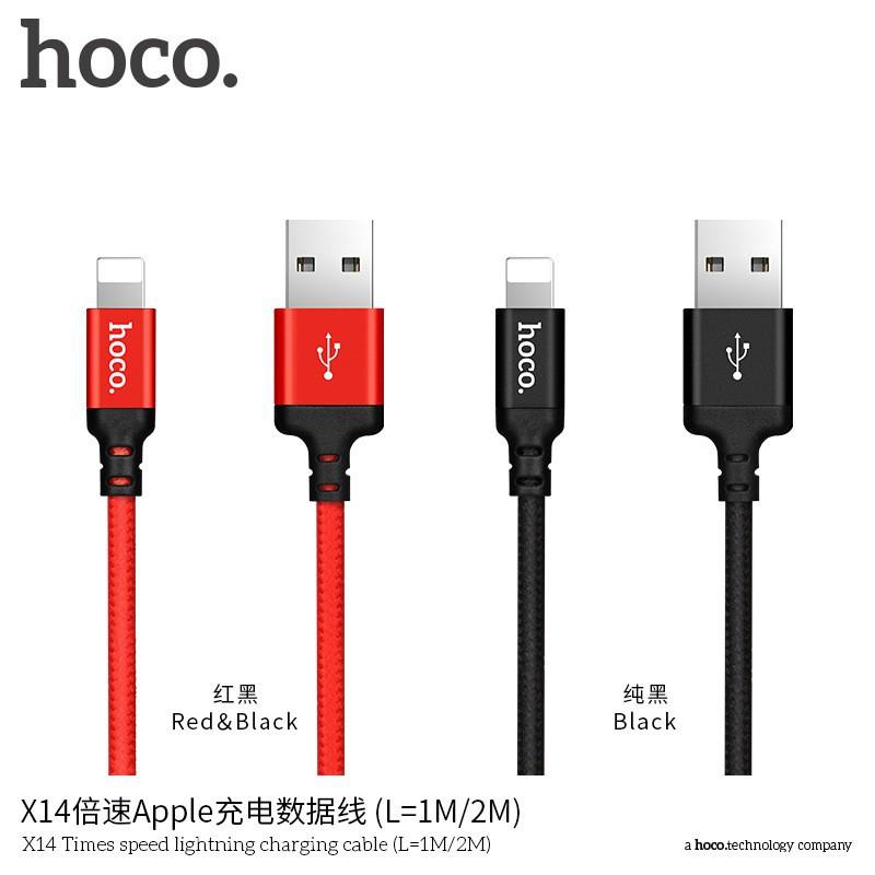 Cáp Sạc Hoco X14 lightning 1m chính hãng -dc2873 - 2582124 , 1334805484 , 322_1334805484 , 27000 , Cap-Sac-Hoco-X14-lightning-1m-chinh-hang-dc2873-322_1334805484 , shopee.vn , Cáp Sạc Hoco X14 lightning 1m chính hãng -dc2873