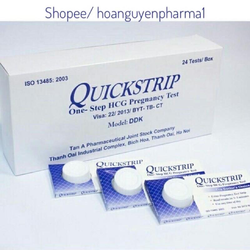 Que thử thai Quickstrip - 1 que nhập khẩu