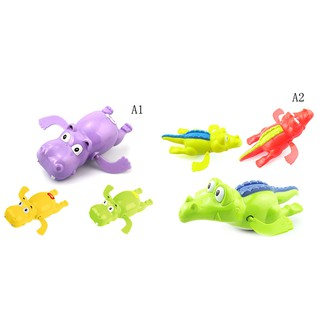 Cute Swimming Cartoon Animal Pool Toys for Baby Children Kids Bath Bathtub Time