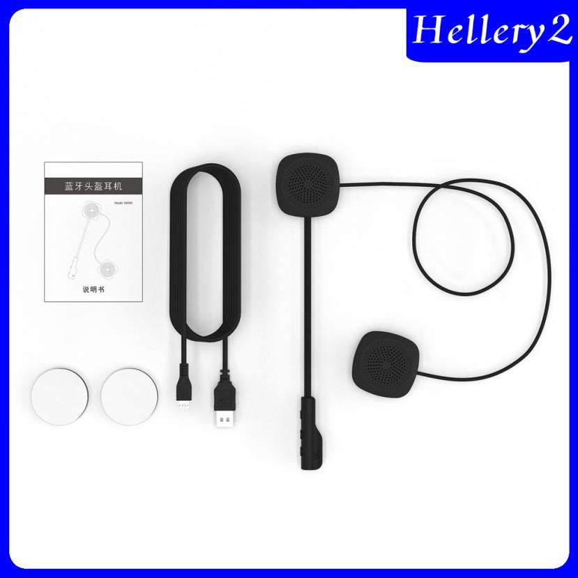Bộ Tai Nghe Có Mic Kết Nối Bluetooth 5.0 Dùng Cho Mũ Bảo Hiểm