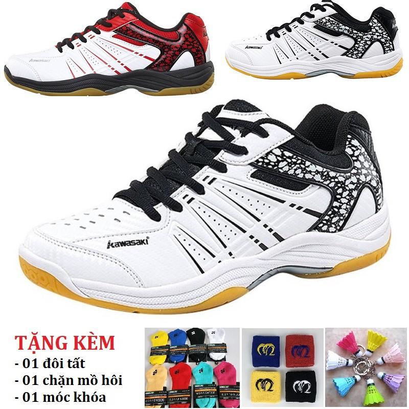 [Combo Quà Tặng] Giày cầu lông Kawasaki K062/K063 bền, rẻ, bảo hành 2 tháng, đổi mới trong 15 ngày