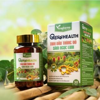 Greenhealth Tinh Dầu Thông Đỏ Sâm Ngọc Linh Vinapharmar Khỏe mỗi ngày