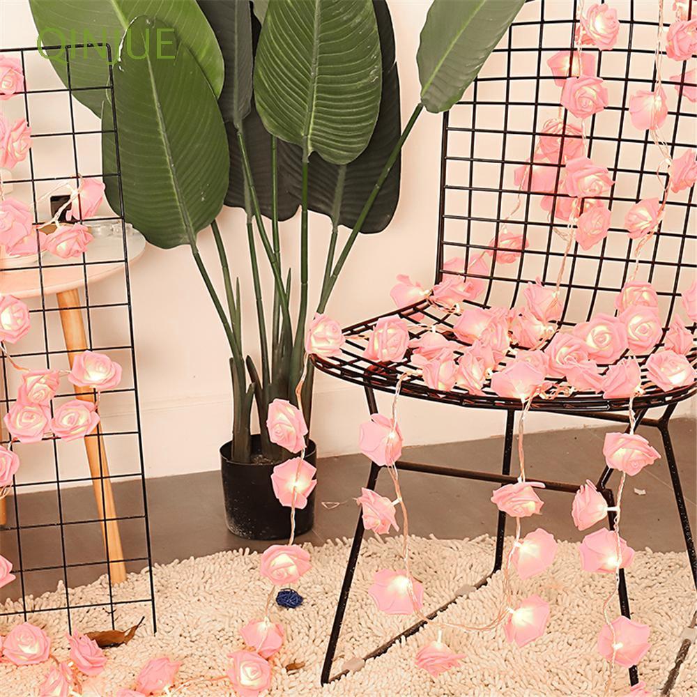 Chuỗi dây đèn LED 20/40 hình hoa hồng dùng để trang trí nội thất - 14233277 , 2514983546 , 322_2514983546 , 78300 , Chuoi-day-den-LED-20-40-hinh-hoa-hong-dung-de-trang-tri-noi-that-322_2514983546 , shopee.vn , Chuỗi dây đèn LED 20/40 hình hoa hồng dùng để trang trí nội thất